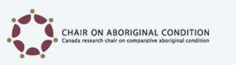 Chair on aboriginal condition logo
